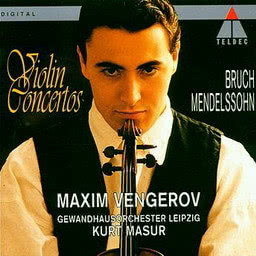 Album Mendelssohn : Violin Concerto in E minor from Maxim Vengerov