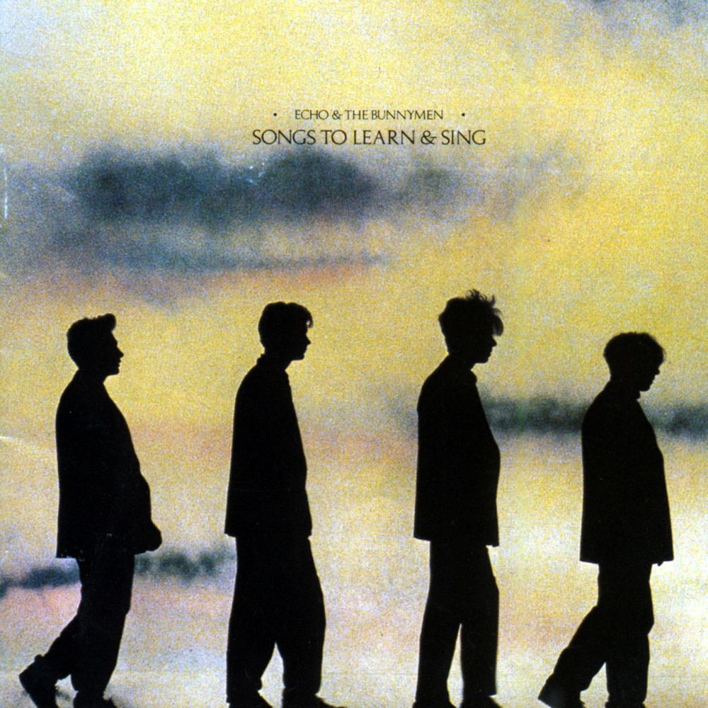 Silver 1985 Echo & The Bunnymen