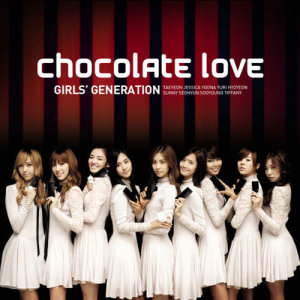 """อัลบัม """"CHOCOLATE LOVE"""" ศิลปิน Girls' Generation"""