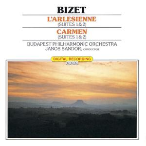 Budapest Philharmonic Orchestra的專輯Classical Favorites - Bizet: L'Arlesienne - Carmen