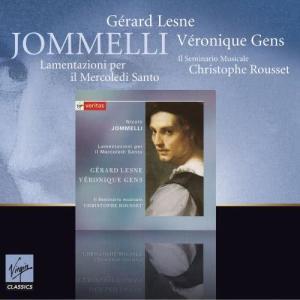 Album Jomelli : Lamentazioni per il Mercoledi santo from Christophe Rousset