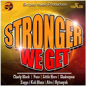 收聽Charly Black的Stronger We Get歌詞歌曲