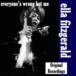 Ella Fitzgerald的專輯Everyone's Wrong But Me, Vol. 5