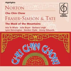 Album Norton: Chu Chin Chow; Fraser-Simson/Tate: The Maid of the Mountains from Michael Collins & His Orchestra
