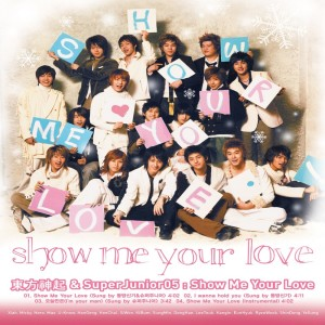 Super Junior的專輯Show Me Your Love