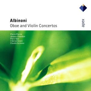 Piero Toso的專輯Albinoni : Oboe & Violin Concertos  -  Apex