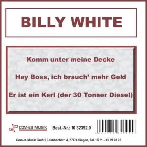 Listen to Immer vorwärts song with lyrics from Billy White