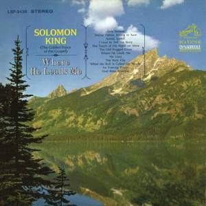 Album Where He Leads Me from Solomon King