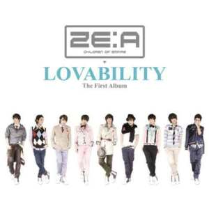 ZE:A的專輯LOVABILITY