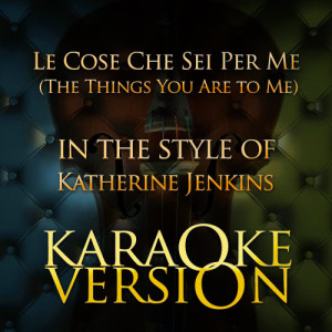Karaoke - Ameritz的專輯Le Cose Che Sei Per Me (The Things You Are to Me) [In the Style of Katherine Jenkins] [Karaoke Version] - Single