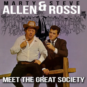 Album Allen & Rossi Meet the Great Society from Marty Allen