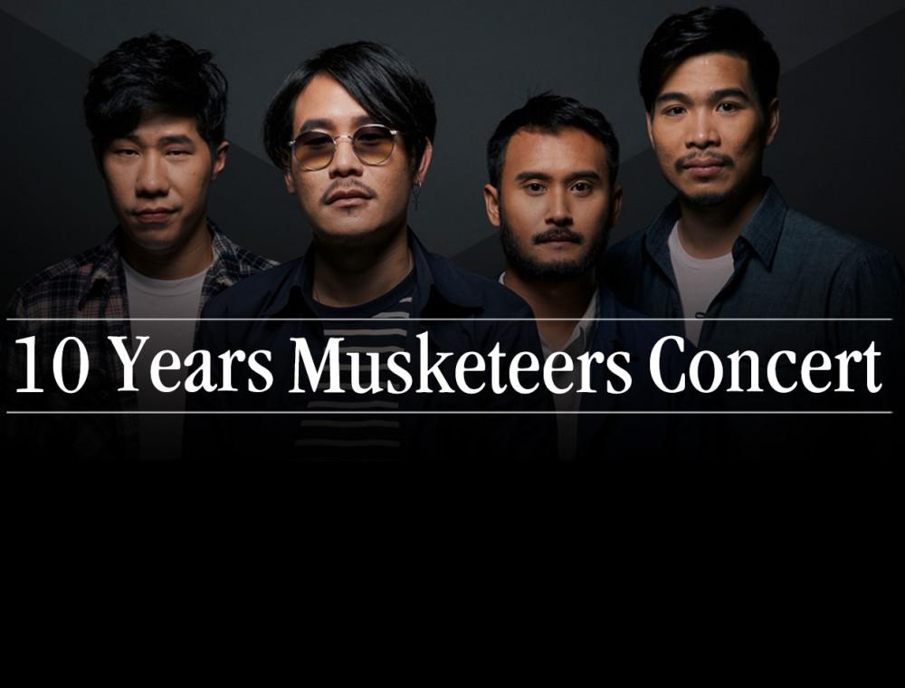 """Musketeers"" ส่งเพลงใหม่ ""ปล่อยไว้อย่างนั้น"" ต้อนรับอัลบั้มเต็มชุดที่ 3 ที่มาพร้อมคอนเสิร์ตใหญ่ 10 Years Musketeers Concert"