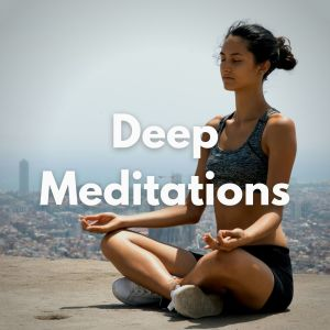 Album Deep Meditations from Zen Meditation and Natural White Noise and New Age Deep Massage