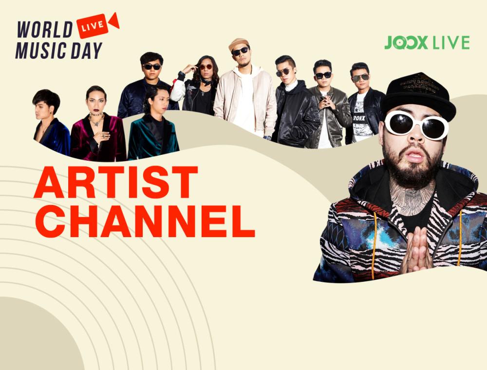 """ตามติดศิลปินที่คุณชื่นชอบได้ที่ """"Artist Channel"""""""
