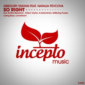 Album So Right (feat. Natalia Pevcova) from Gregory Esayan