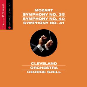Cleveland Orchestra的專輯Mozart: Symphonies Nos. 35, 40 & 41