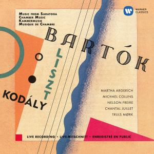 Album Kodály: Duo for Violin and Cello - Bartók: Contrasts - Liszt: Concerto pathétique (Live at Saratoga Performing Arts Center, 1998) from Nelson Freire