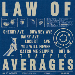 Album LAW OF AVERAGES (Explicit) from Vince Staples