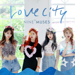 NINE MUSES的專輯MUSES DIARY PART.3 : LOVE CITY