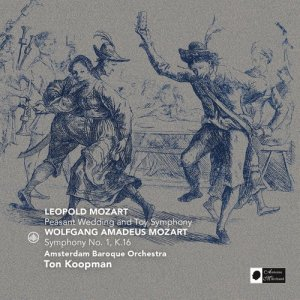 Album Leopold Mozart & Wolfgang Amadeus Mozart from Amsterdam Baroque Orchestra
