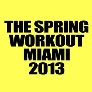 Album The Spring Workout Miami 2013 from Workout Guru