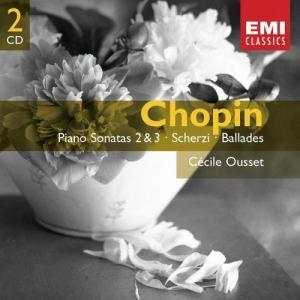 Album Chopin:PIano Sonatas 2 & 3: Ballades & Scherzi from Cecile Ousset