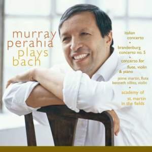 Murray Perahia的專輯Murray Perahia Plays Bach