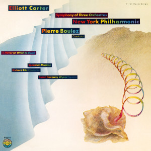 Pierre Boulez的專輯Carter: A Symphony of 3 Orchestras & A Mirror on Which to Dwell