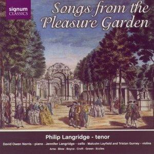 Album Songs From The Pleasure Garden from Philip Langridge