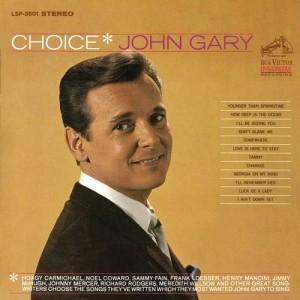 Album Choice from John Gary