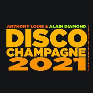 Album Disco Champagne 2021 from Tonia