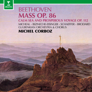 Album Beethoven: Mass in C Major, Op. 86 & Calm Sea and Prosperous Voyage, Op. 112 from Michel Corboz