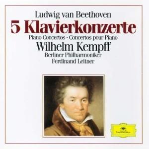 Wilhelm Kempff的專輯Beethoven: 5 Piano Concertos