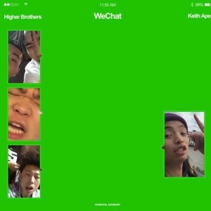 Higher Brothers的專輯WeChat (feat. Keith Ape)
