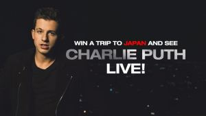 Charlie Puth Live in Japan!