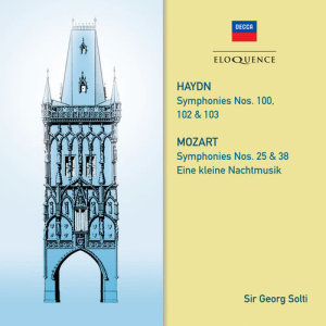 Sir Georg Solti的專輯Haydn: Symphonies 100, 102, 103. Mozart: Symphonies 25 & 38; Eine kleine Nachtmusik