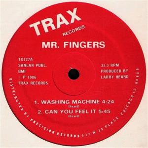 Album Washing Machine from Mr. Fingers