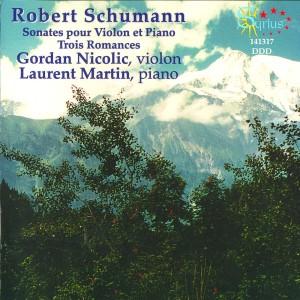 Album Schumann: Sonates pour violon et piano from Gordan Nicolitch