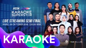Nonton Live Streaming Semi Final JOOX Karaoke Superstar Yuk!