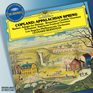 Album Copland: Appalachian Spring / W. H. Schuman: American Festival Overture / Barber: Adagio For Strings, Op.11 / Bernstein: Overture Candide from Los Angeles Philharmonic Orchestra