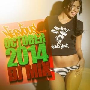 Album Nervous October 2014 - DJ Mix from Various Artists