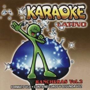 Album Karaoke Latino Rancheras Vol. 2 from Pimienta Karaoke Players
