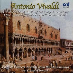 "Album Vivaldi: 12 Concerti Op. 8 ""Trial of Harmony & Intervention"" from Simon Standage"