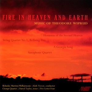 Album Theodore Wiprud: Fire in Heaven and Earth from Tim Rice