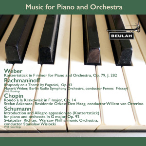 Stefan Askenase的專輯Music for Piano and Orchestra