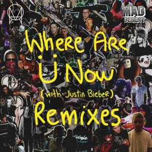 Listen to Where Are Ü Now (with Justin Bieber) (Rustie Remix) song with lyrics from Skrillex