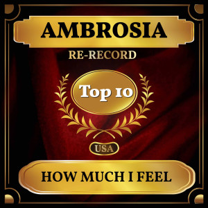 Album How Much I Feel (Billboard Hot 100 - No 3) from Ambrosia