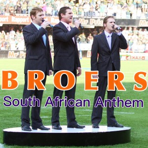 Album South African anthem from Broers