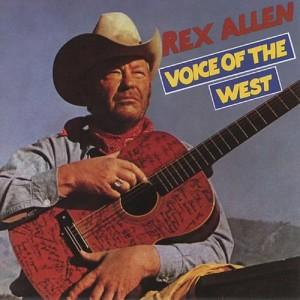 Album Voice of the West from Rex Allen