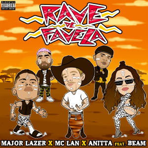 Album Rave de Favela (feat. BEAM) from Major Lazer
